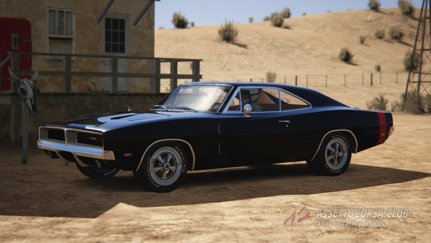 Dodge Charger R T 440 Magnum 426 Hemi 69 Assetto Corsa Club
