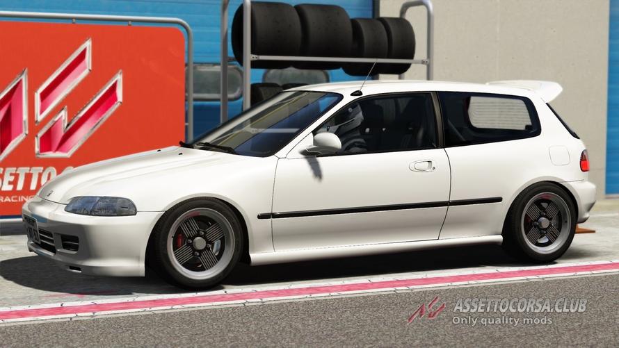 Honda Civic Sir Ii Eg6 Assetto Corsa Club