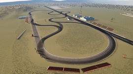 Airport Drift Track