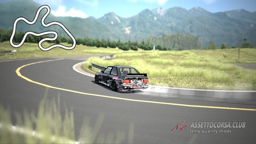 Playground Touge Drift Circuit - Assetto Corsa Club